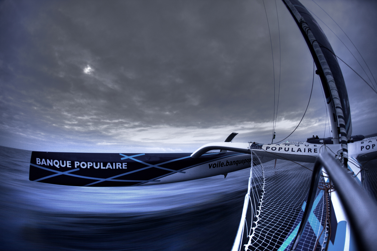 Banque Populaire V Onboard