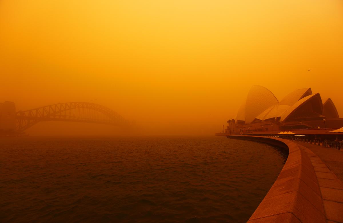 Sydney Sand Storm